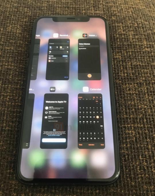 iPhone 11运行iOS 14界面曝光:跟iPad类似的多任务